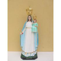 Escultura Nossa Senhora Gloria Linda Imagem 78cm Fabrica