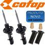 2 Amortecedor Dianteiro Honda Crv - Novo Cofap + Kits