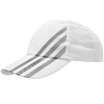 Boné Adidas Microfibra Iii | Cor: Branco / Cinza
