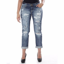 Sawary Calça Jeans Boyfriend Sabrina Sato