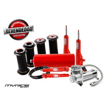 Kit Suspensão Ar 1/2mm Fiesta Com Compressor Myrideshop