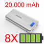 Carregador Portátil Power Bank Pineng 20.000mah Celular
