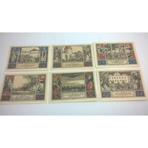 6 Cédulas Alemanha Notegeld 50 Pfennig 1921 Lt0049