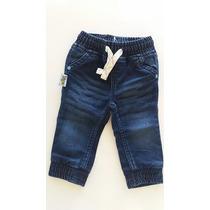 Calça Jeans Cós Elástico Tigor T. Tigre Baby- Super Oferta