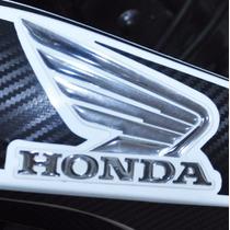 Adesivo Faixa Relevo 3d Tanque Carenagem Moto Honda Bros 160