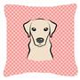 Labrador Damas-de-rosa Amarela Da Lona Da Tela Decorativa Pi
