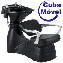 Lavatório Cuba Móvel Para Cabelo, Open Fit Dompel