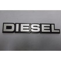 Emblema Diesel Chevrolet Custom E Bonanza Original Gm
