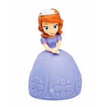 Princesas Disney Boneca Luminosa Sofia Disney Estrela Abajur