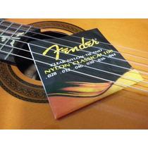 Encordoamento Violão Fender 028 044 Nylon Classical 100