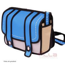 Bolsa 3d Fashion Cartoon Importada Transversal Expandida