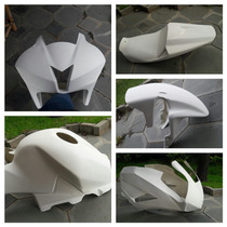 Kit Carenagem Pista Completo Honda Cbr 600 Rr 2007 À 2015