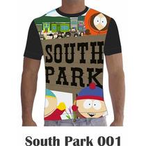 Camisa Camiseta Personalizada Séries Desenhos South Park 1a4