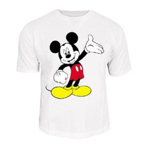 Camiseta Mickey Mouse,minnie
