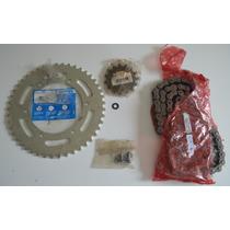 Kit Transmissão Relação Xt 660r - Pinhão, Coroa E Corrente