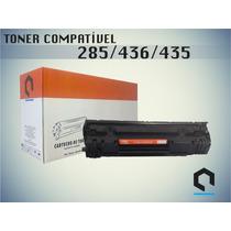 Kit 10 Peças - Toner Compatível Hp 285a 436a 435a Universal