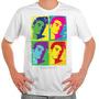 Camiseta Rock - The Smiths, Echo & The Bunnymen, New Order