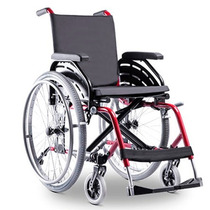 Cadeira De Rodas Aluminio K1 Ortobras Assento 46 Cm Cores