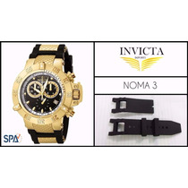 Pulseira Do Relógio Invicta Subaqua Noma Iii-nova - Borracha