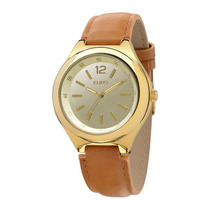 Relógio Feminino Euro Premium Eu2035lwk/4t - Dourado / Ma...