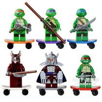 Miniaturas Tartarugas Ninjas Igual O Lego