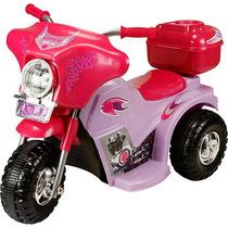 Moto Elétrica Infantil Pink Adventure 6v