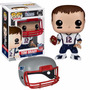 Boneco Funko Pop Nfl Tom Brady New England Patriots