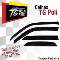 Calha De Chuva Defletora Tg Poli Ford Ka Hatch/sedan 14/15