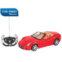 Carrinho Controle Remoto Ferrari California 7 Funções 1/12