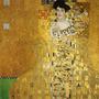 Foto P/ Quadro Gustav Klimt 90cmx90cm Tela Adele Bloch Bauer