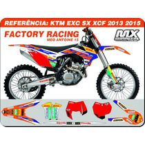 Kit De Adesivos Ktm - Racing 15 Dhl Meo - Qualidade 3m