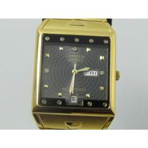 Relógio Citizen Ctz-057 Luxo Dourado - Dia Dos Namorado