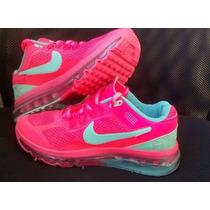 Tenís Nike Air Max 2014 Rosa Feminino Lindos Compre Já