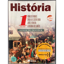 Livro História Vol 1 Manual Do Professor.
