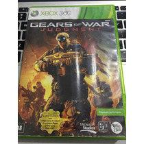 Jogo Gears Of War Judgment Original Xbox 360 Barato 100% Pt