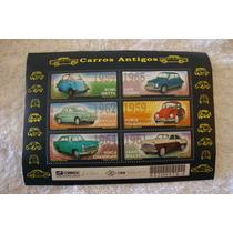 Selos Antigos Do Brasil- Carros Antigos - Ano 2001
