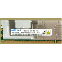 4gb (1x4gb) Memoria 4gb Pc2-5300f Ddr2-667 Fully Buff Ecc