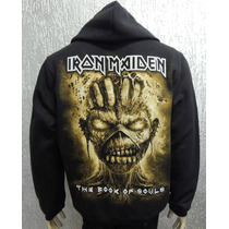 Moletom / Blusa Iron Maiden - The Book Of Souls - Capuz