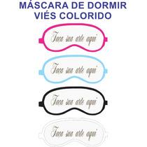 Máscara P/ Dormir Viseira Repouso Tapa Olhos Infantil 10 Pçs