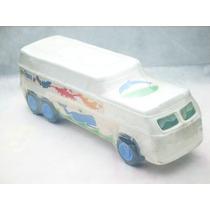 Cod-159 Onibus Diplomata Brinquedo Em Plastico Bolha