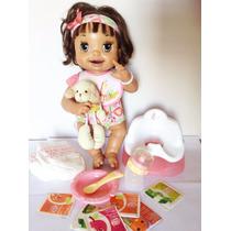 Boneca Baby Alive Troninho Raridade Completa - Português