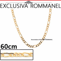 Rommanel Cordao Corrente Masculina 60cm Fio Alternado 530089