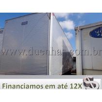 Baú Aluminio 8,50 X 2,75 Alt Piso Chapeado P/ Caminhão Truck