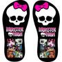Chinelo Monster High (personalizado)