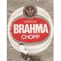 Rótulo Antigo Da Cerveja Brahma Chopp 600 Ml - F11