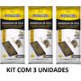 Cola Pega Rato Camundongo Armadilha Adesiva Colly Kit Com 3