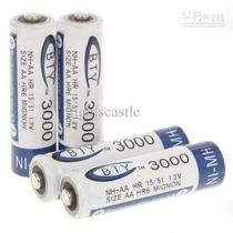 Pilha Aa Recarregável 3000mah 1,2v Nimh Bateria Controle Jr