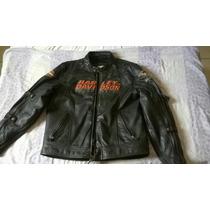 Jaqueta Harley Davidson Original Em Couro