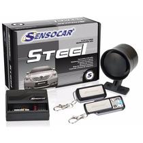 Alarme 2 Controles Sensocar Steel Super Promoção