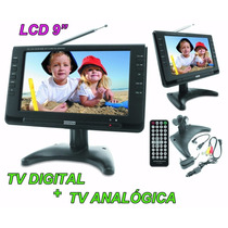 Tela Lcd 9 Polegadas Powerpack 986 / 982 Portatil Tv Digital